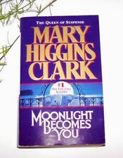 ~ Moonlight Becomes You ~ by Mary Higgins Clark 1997 PB
