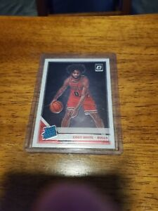 2019-20 Donruss Optic #180 Coby White Rated ROOKIE Bulls RC