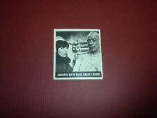 GET SMART card #56 Topps 1966 Printed in U.S.A. DON ADAMS BARBARA FELDON TV