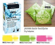 Batikfarben Set, 3 Batik Textilfarben im Set, pastell Farben