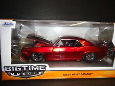 Jada Chevrolet Camaro 1969 Custom Candy Red 1/24
