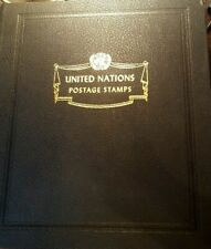United nations stamp collection in white ace album see pics