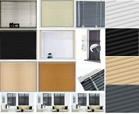 Easy Fit ALUMINIUM OR PVC Venetian Window Blinds Long 150 - 210CM DROP STANDARD