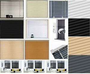 Easy Fit PVC Venetian Window Blind Office Home TRIMABLE Kitchen Living