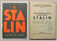 Colemans Kl. Biographien Heft 12 Just Stalin 1933 Geschichte Politik Diktator xz