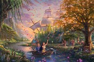 Ceaco Thomas Kinkade The Disney Collection Pocahontas Puzzle - 750 Piece