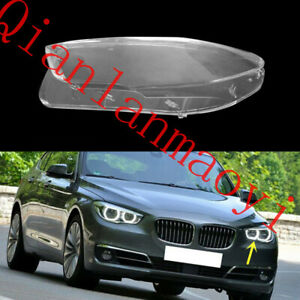 Left Side Clean Headlight Cover With Glue For BMW F07 5-Series GT 2010-2017