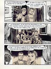 ILS ONT FUIT DE VENUS PLANCHE DE MONTAGE ORIGINALE METEOR AREDIT PAGE 4