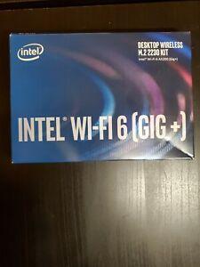 Intel Desktop Wireless M.2 2230 Kit, Intel Wi-Fi 6 AX200 (Gig+) M.2 connector E