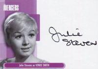 Avengers TV Definitive 1 Julie Stevens as Venus Smith Autograph Card A5