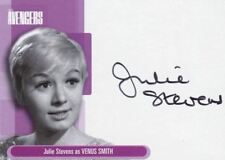Avengers TV Definitive 1 Julie Stevens as Venus Smith Autograph Card A5