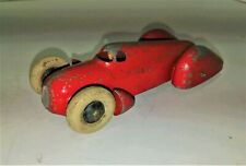 Dinky 23D Auto Union ( Large Closed Racing Car ) Smooth hubs plus driver 1950?