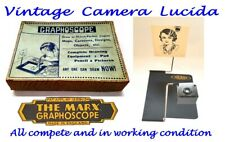 Vintage Camera Lucida Toy - The Marx Graphoscope - Complete & working order