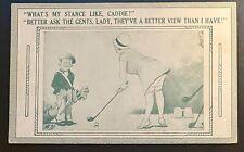 "Vintage ""RISQUE GOLF EXHIBIT CARD"""