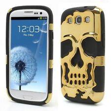 Fundas y carcasas Samsung color principal negro de silicona/goma para teléfonos móviles y PDAs