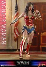 HOTTOYS MMS584 1/6 Wonder Woman 6.0 WW1984 The Amazon Princess Action Figure