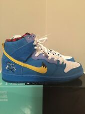 Nike Dunk High Premium SB Size 9 Blue Ox Familia Photo Tour Yellow 313171-471