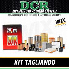KIT TAGLIANDO ALFA ROMEO 147 1.6 i 16V TS 105CV 77KW DAL 11/2000 + SELENIA 10W40