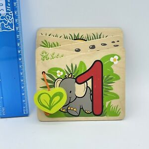 """Wooden """"Count To Ten"""" Toddlers Book by Hape Eco-toys 0512"""