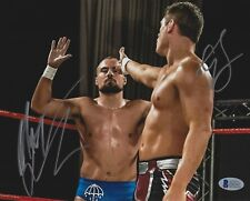 Cody Rhodes & Marty Scurll Signed 8x10 Photo BAS COA New Japan Pro Wrestling WWE