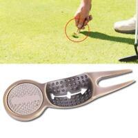 Groove Cleaner Ball Mark Golf Pitch Switchblade Tool Green Divot Golfer Repair