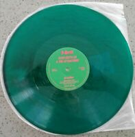 "1985 ROCK - ELVIS COSTELLO & THE ATTRACTIONS - GREEN SHIRT - 12"" EP GREEN VINYL"