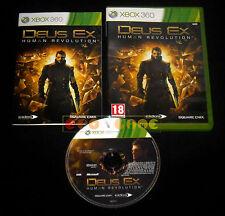 DEUS EX HUMAN REVOLUTION XBOX 360 Versione Italiana 1ª Edizione ••••• COMPLETO