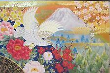 Japanese Blank Greeting Card Bird of Prey