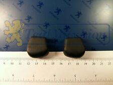 Jeu de 2 boutons noirs de commande de déflecteur 504 coupé/cabriolet ->M1975 v1