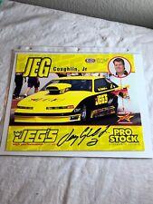 Jeg Coughlin Jr Slammers Ultimate Milk Signed Racing NHRA Photo 8 x10 N 110
