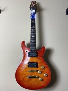 Electric Guitar Vilches Guitars PRS Style Mahogany Big Quilted maple top w/HardC