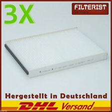 3x Fileristen Innenraumfilter Pollenfilter Opel Astra G,H Zafira A Astra DELPHI