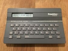 1988 Franklin Computer Spelling Ace SA-98 Spell Checker Merriam Webster Tested