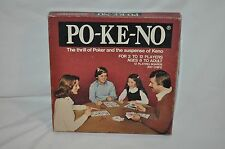 POKENO complete BOARD GAME VINTAGE FUN USA POKER & KENO COMBINED