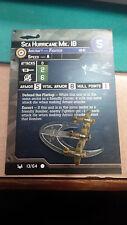 Sea Hurricane  War At Sea     Axis & Allies with card