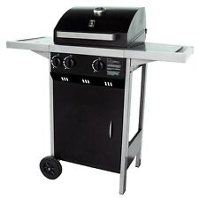 Barbecue a gas Optima 2.1 due bruciatori in acciaio inox bbq barbeque