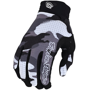 Troy Lee Designs Air Gloves Youth Kids Mx Motocross Bmx Mtb Dh Cycling CAMO GRAY