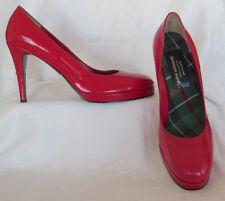 JUNYA WATANABE COMME DES GARCON Red Platform Pump Shoes Japan Sz 26 US Sz 9.5