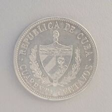 1915 Caribbean Silver 40 CENTS