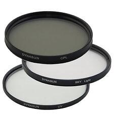 Filtro Ultra Violetto DynaSun UV 82mm + Polarizzatore Circolare 82 mm + Skylight