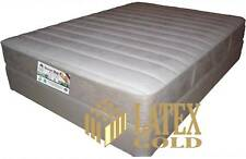 Queen or Dble Luxurious Latex Zoned Suede Mattress