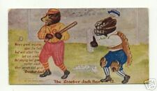 Cracker Jack Bears baseball postcard, 1907