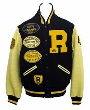 Men's / RUGBY RALPH LAUREN / Baseball Football Varsity Jacket / Size: Medium