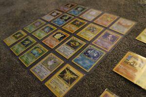 Pokemon Cards COMPLETE Base Set 2 II -130/130- Charizard/Blastoise/Venusaur 2000