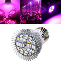 28W Full Spectrum E27 Led Grow Light Growing Lamp Light Bulb For Flower Plant