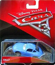 Disney Pixar Cars 3 Sally Carrera Blue Porsche Mattel Diecast 1:55 Scale 2017
