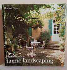 Vintage Reader's Digest Practical Guide To Home Landscaping Hardcover