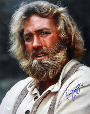 1977-1978 Dan Haggerty Grizzly Adams Signed Le 11x14 Color Photo (Jsa)