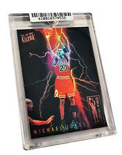 Michael Jordan The Shot Scoring Kings Custom Refractor Bulls vs. Jazz  # 13/23