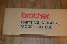 Brother Kh-230 Knitting Machine In Original Box Near Mint